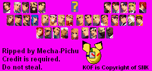 The Spriters Resource Full Sheet View The King Of Fighters