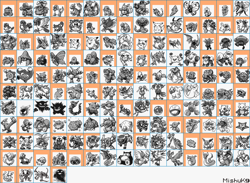 Pictures of Pokemon Red And Green Sprites - #rock-cafe