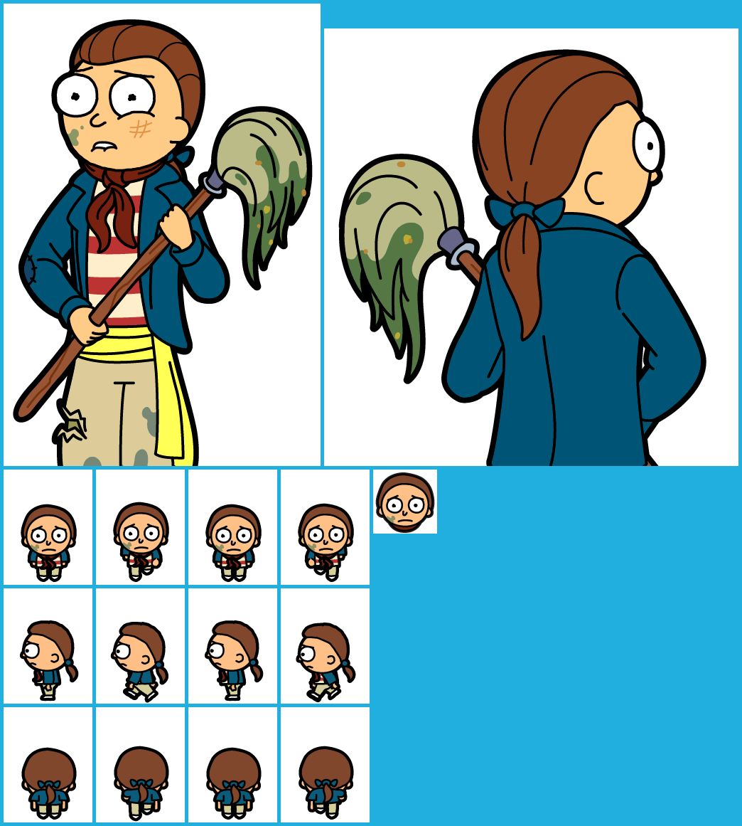 the spriters resource full sheet view pocket mortys