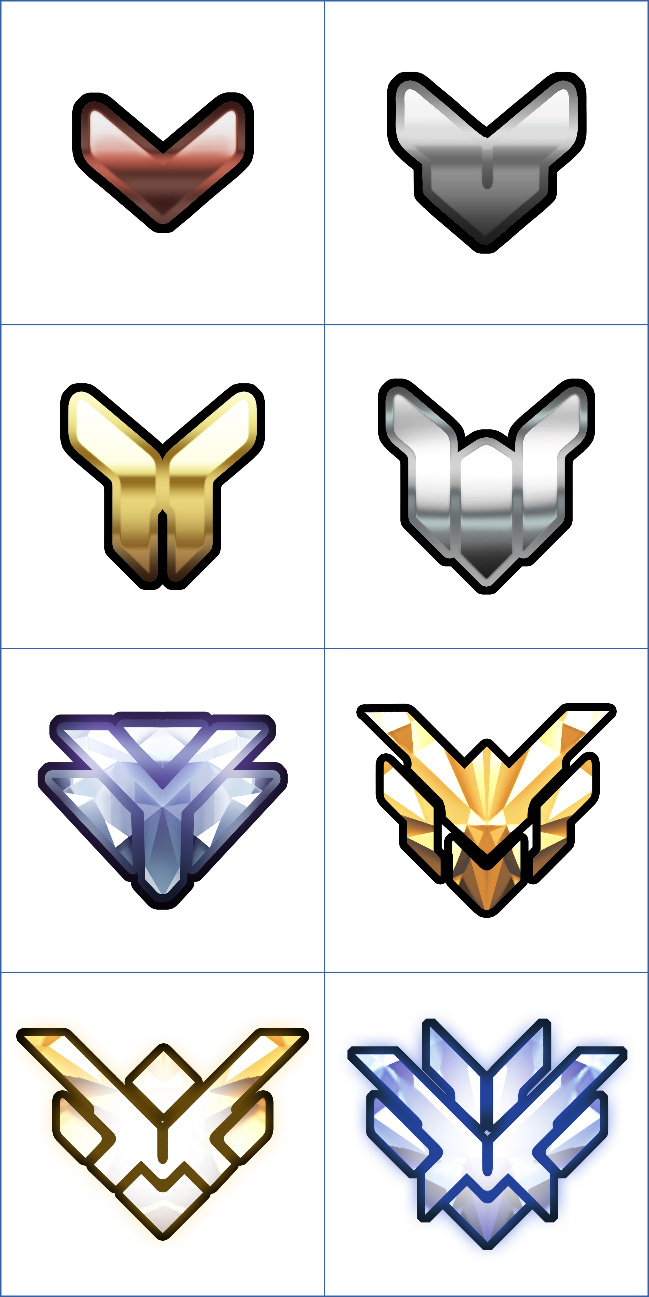 PC / Computer - Overwatch - Competitive Rank Icons - The ...