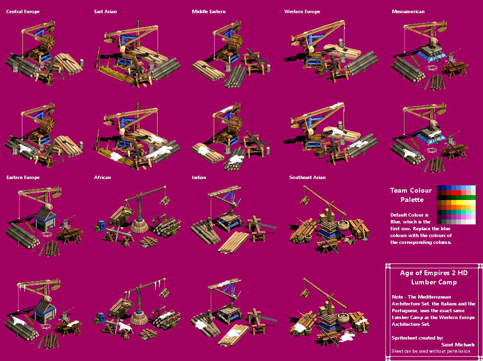 The Spriters Resource Full Sheet View Age Of Empires