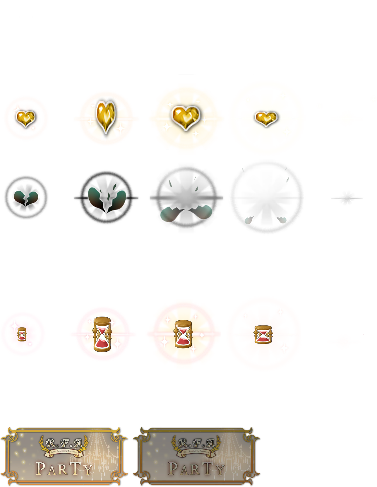 Heart and Hourglass Animation