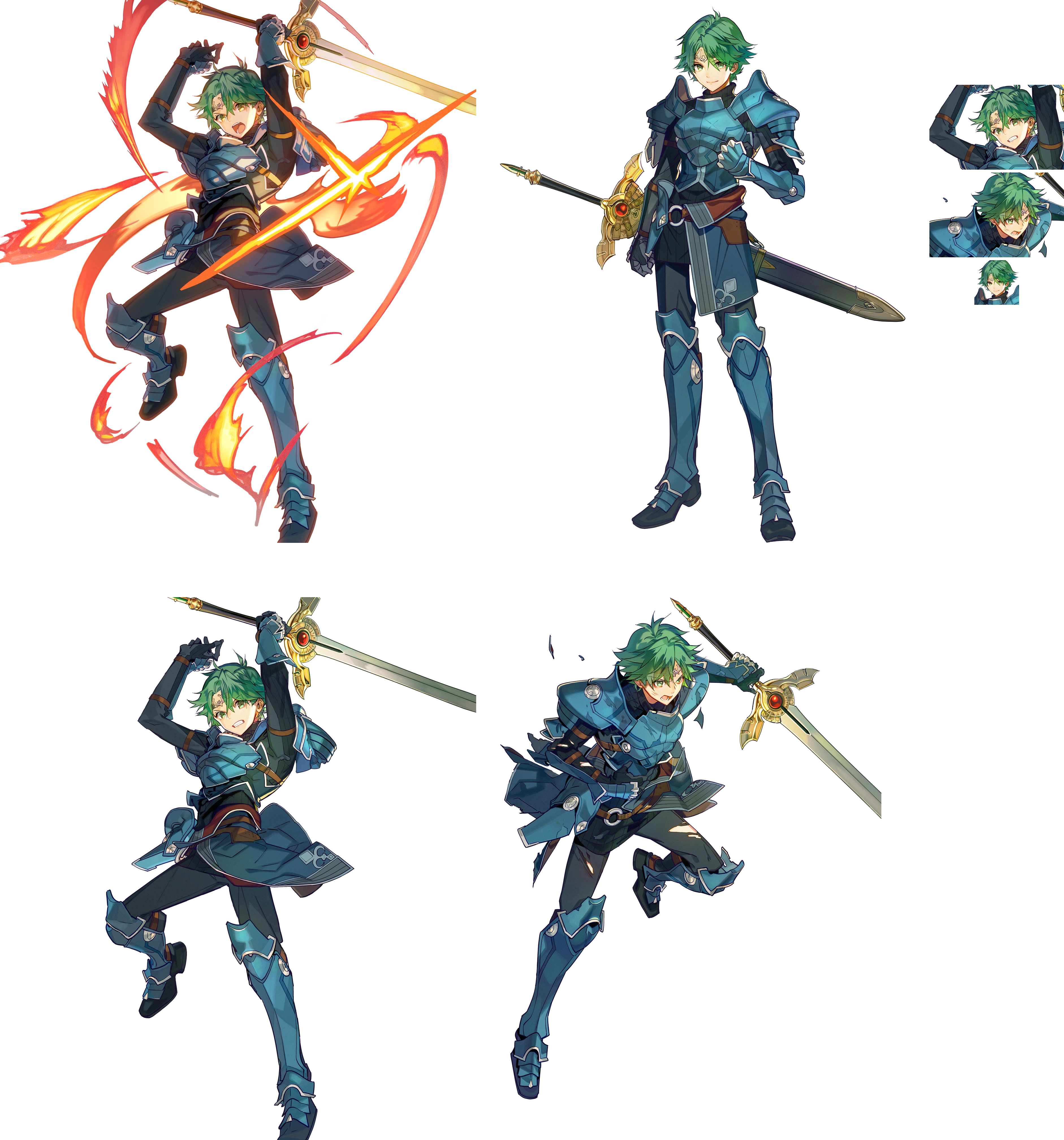 Alm, Leader of the Deliverance - Fire Emblem Echoes