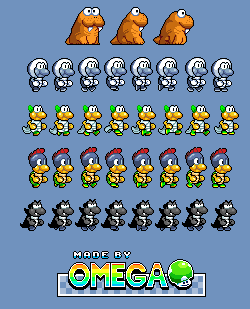 Super Mario's Wacky Worlds Enemies