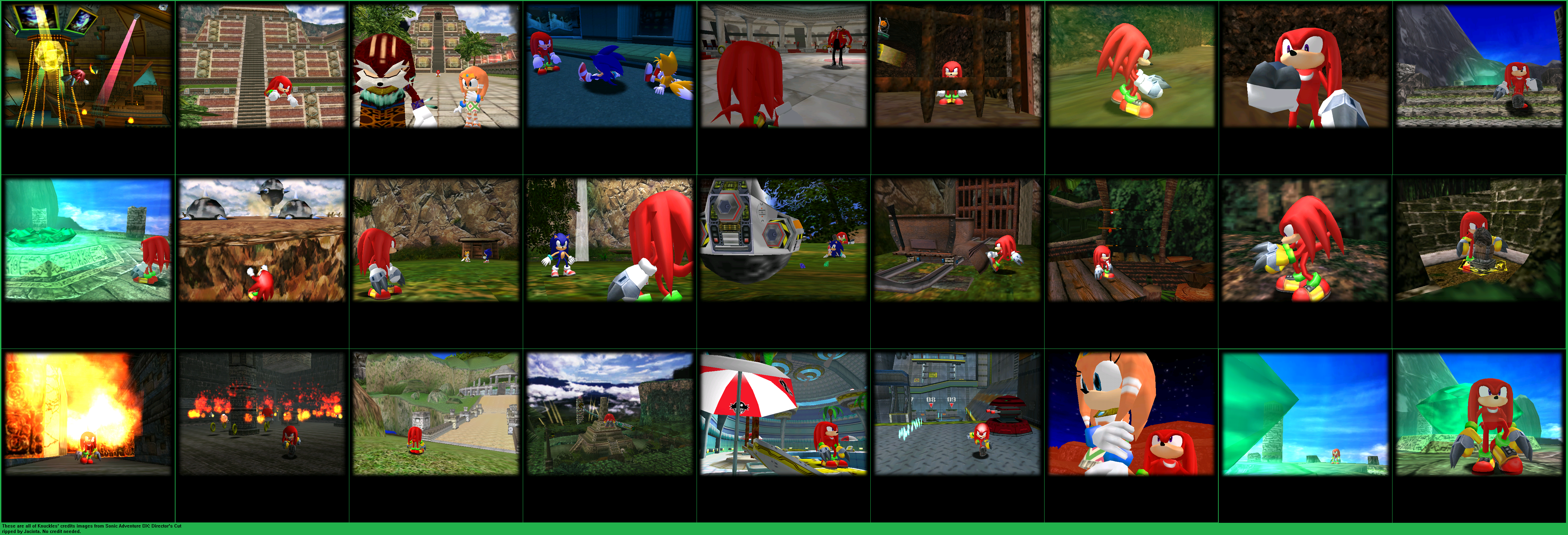 Credits Images (Knuckles)