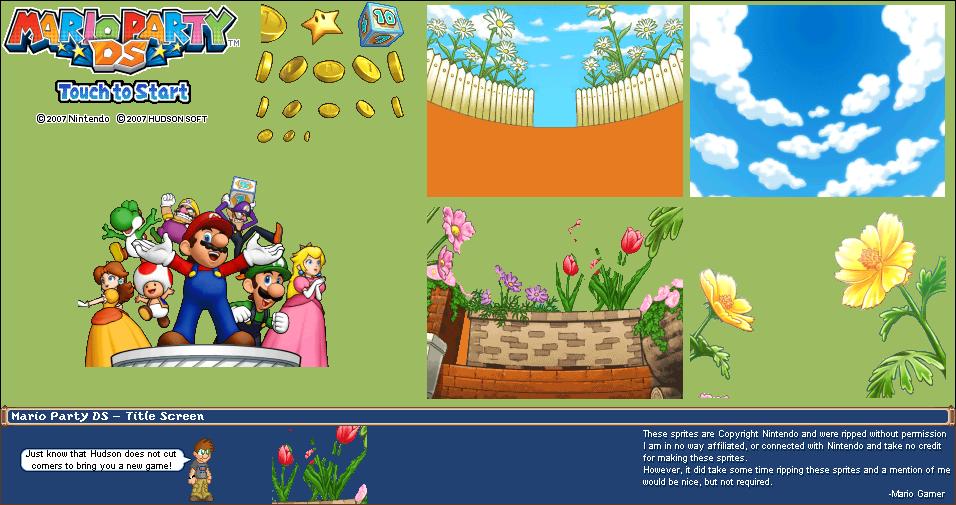 DS / DSi - Pokémon Conquest - Title Screen & Character