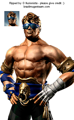 Gamecube Mortal Kombat Deadly Alliance Johnny Cage