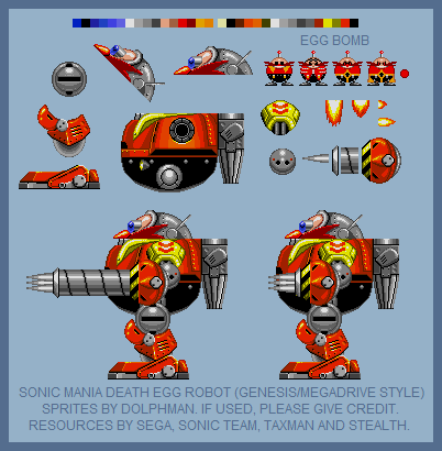 Death Egg Robot (Mania, Genesis Style)