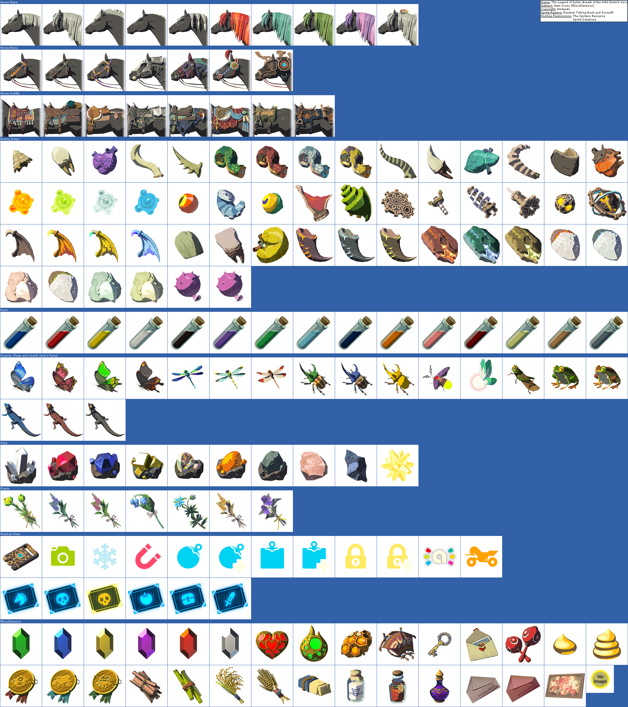 Item Icons (Miscellaneous)