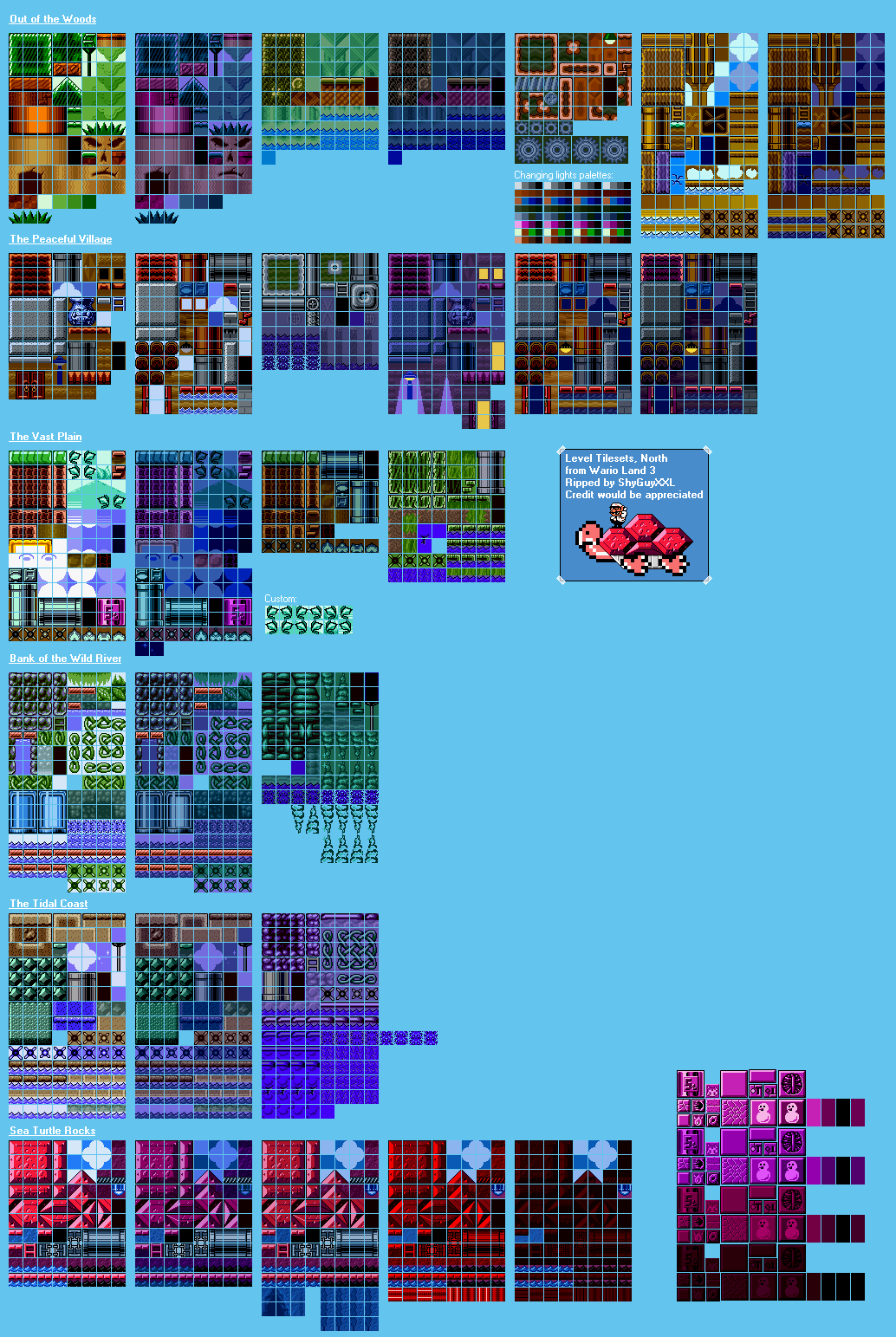 Level Tilesets North