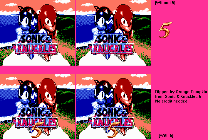 Title Screen (Sonic & Knuckles 5)