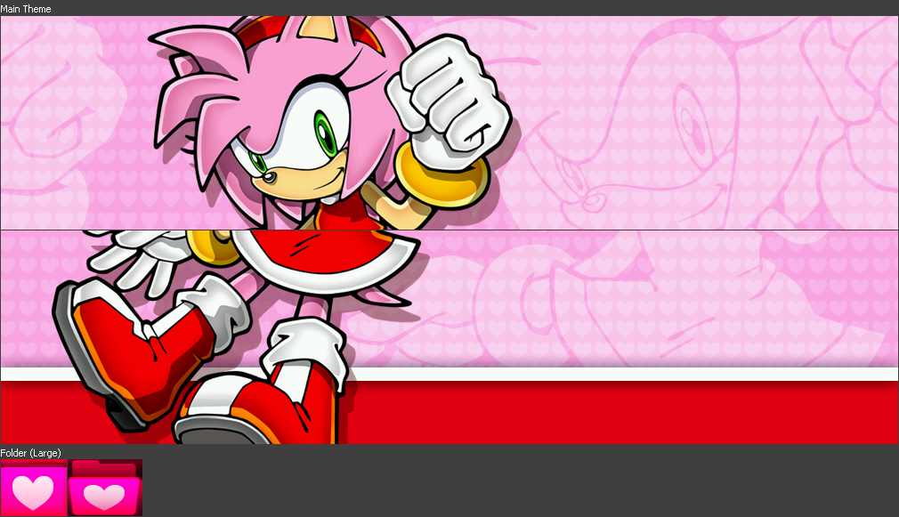 Amy Rose Theme