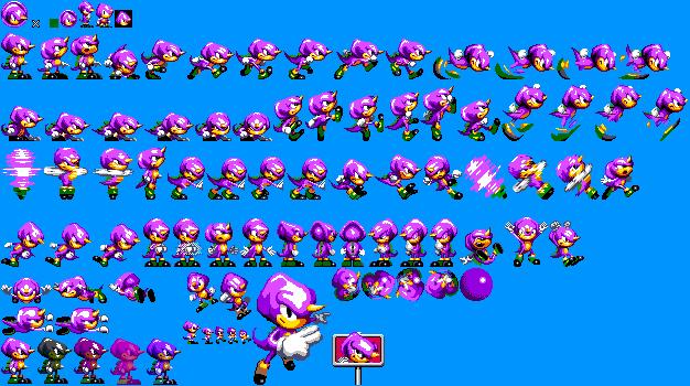 Genesis 32x Scd Sonic Classic Heroes Hack Espio
