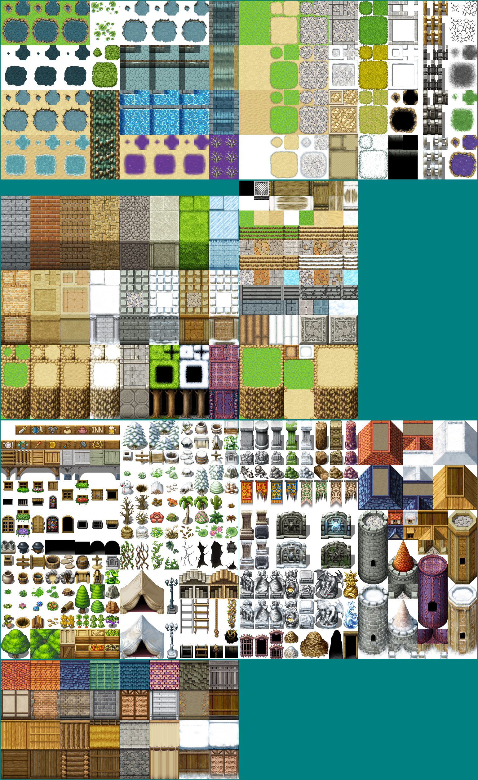 The spriters resource full sheet view rpg maker mv for View maker
