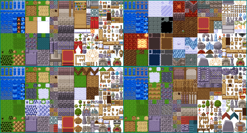 Exclusive Tilesets