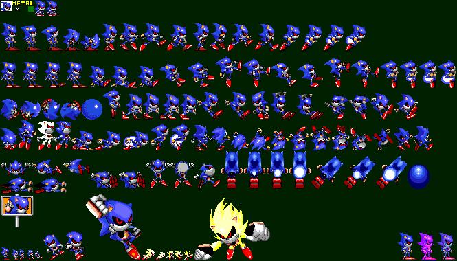 Genesis 32x Scd Metal Sonic In Sonic 2 Hack
