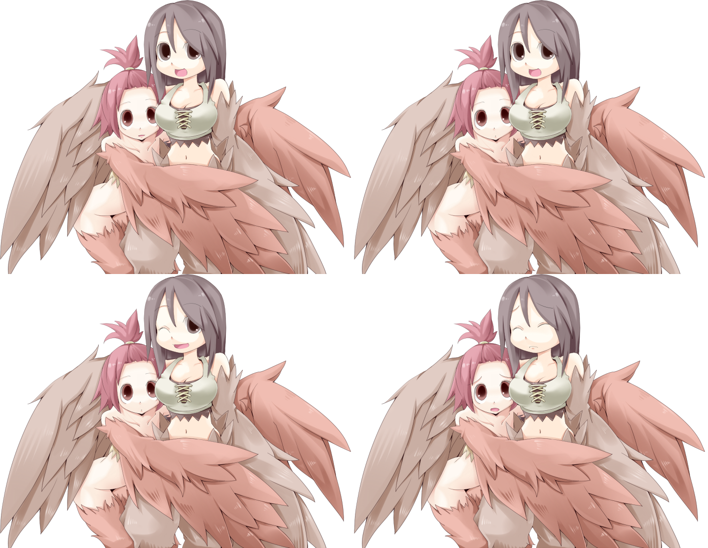 Click For Full Sized Image Harpy Twins