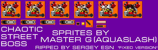 The S Factor: Sonia and Silver (Hack) - Dr. Eggman Nega (Chaotic Street Boss)